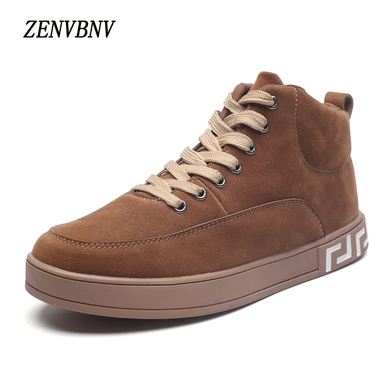 ZENVBNV 2017 New Fashion Shoes Men Shoes Masculino Male Comfortable Lace Up Flats Casual Shoes Pu Leather Solid Sneakers Man cbjsho brand men shoes 2017 new genuine leather moccasins comfortable men loafers luxury men s flats men casual shoes