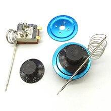 2 шт. энергосберегающий поворотный термостат AC220V16A температурные переключатели 50-300 градусов Цельсия
