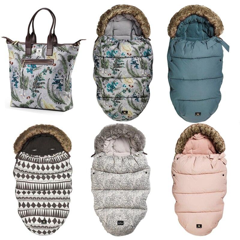 Original Elodie Details Envelope For Newborns Infant Baby Stroller Sleeping Bag Sacks Stroller Winter Warm Soft Sleepsack Bag все цены