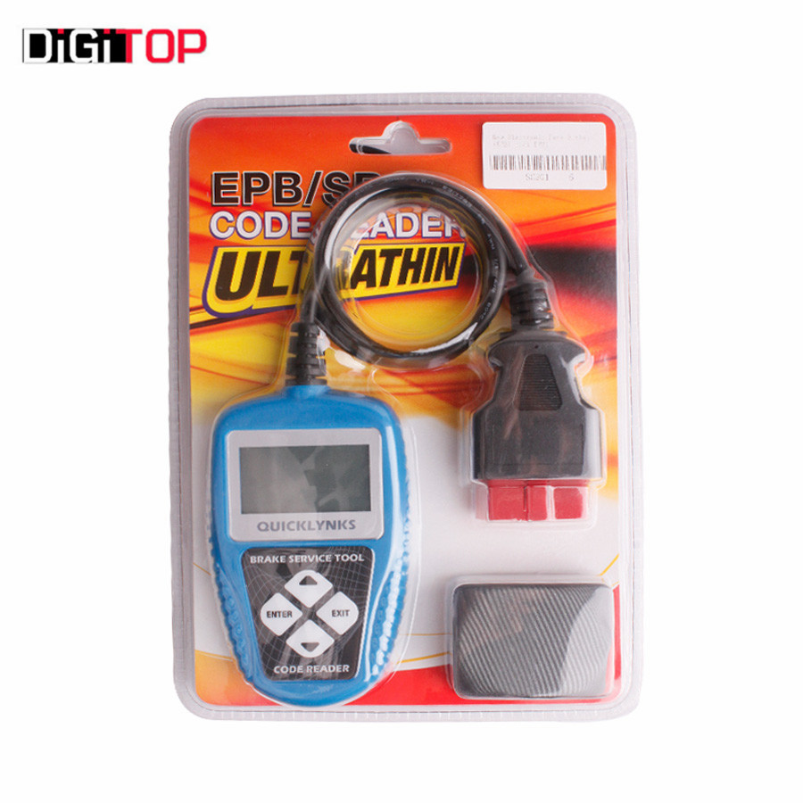 ФОТО New Electronic Park Brake (EPB) tool EP31 EPB Code Scanner by Free Shipping