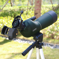 45 градусов окуляр 60X зум оптический телефото клип на телескоп объектив + стандартный Настольный Штатив для мобильного смарт телефон