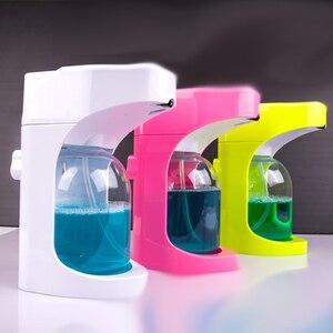 Image 4 - 500ml Automatic Soap Dispenser Touchless Sanitizer Dispenser Built in Infrared Smart Sensor for Kitchen Bathroom soap dispenser