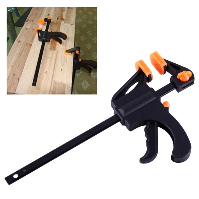 Quick Grip 4 Inch Wood Working Clamp Clip Adjustable Wood Carpenter
