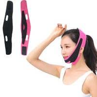 Chin mejilla Slim levantar Anti arrugas máscara StrapHigh elástica Ultra-delgada transpirable cara ascensor banda V cara forma tamaño Universal