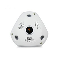 Wifi IP Wide Angle VR Camera Wireless 5MP HD Smart 360 Degree Fishey Panoramic Network CCTV