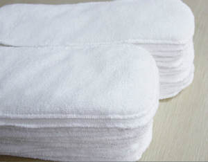 Boosters-Liners Wrap-Insert Diaper-Cover Cloth Nappy Bamboo-Charcoal Microfibre Reusable