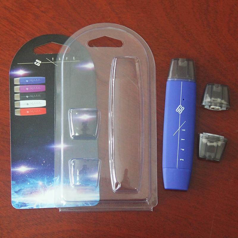 Kingfish Mini Electronic Cigarette G8 VAPE POD mod System Refillable Vape 300mah 1ml Big Vapor E cigarette Hookah Vape Pen kit