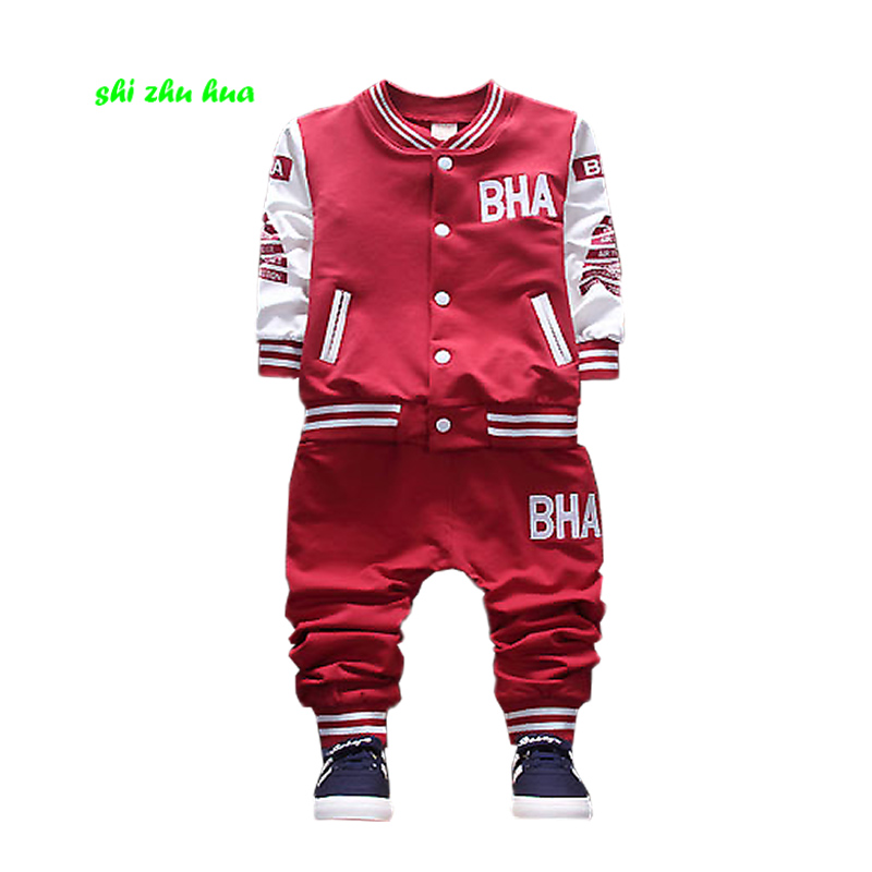 Children's clothes, boy clothes, 2017 spring and autumn coats and jackets, pants, a sports suit, 2-5y for Korean fashion childre