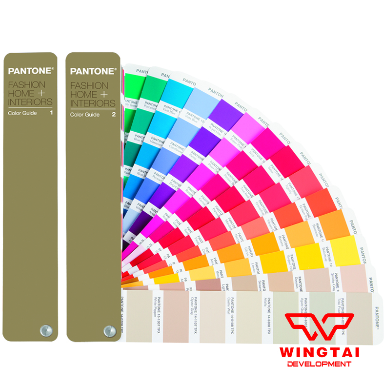 2 Books / set Pantone TPX FGP200 /TPG FHIP100 for Garment Pantone FHI Color Guide Update version TPG FHIP110N стоимость