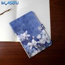 IKASEFU Pintura Filp Cubierta Del Soporte para Apple iPad 2/3/4 9.7 pulgadas Fundas Coque de Cuero de LA PU para el ipad 234 tpu Caso ipad2 ipad3 ipad4