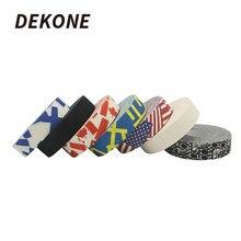 Лента для хоккея, 1 шт., 2,5 мм x 25 м, многоцелевая, цветная, Спортивная, безопасная, хлопковая ткань, усиливающая, для хоккея, бадминтона, гольфа