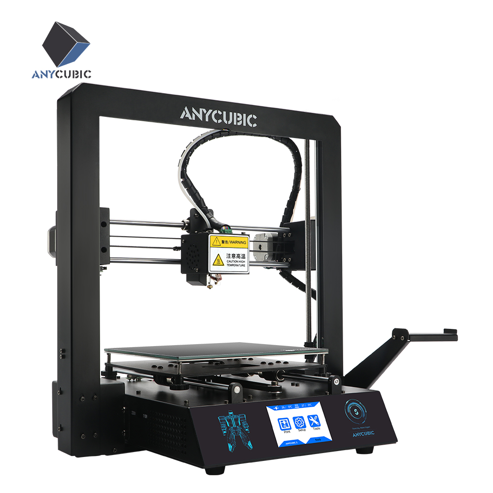 ANYCUBIC Mega S 3D Printer Upgrade Extruder TFT Touch Screen Huge Build Volume PLA Filament Cheap