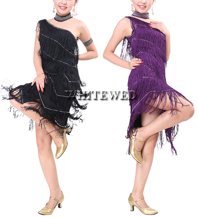 Womens Retro 1920s The Great Gatsby Themed Sweet 16 Cocktail Shower Party Dance Flappers Dresses Costumes Outfits In Latin From Novelty Special Use On