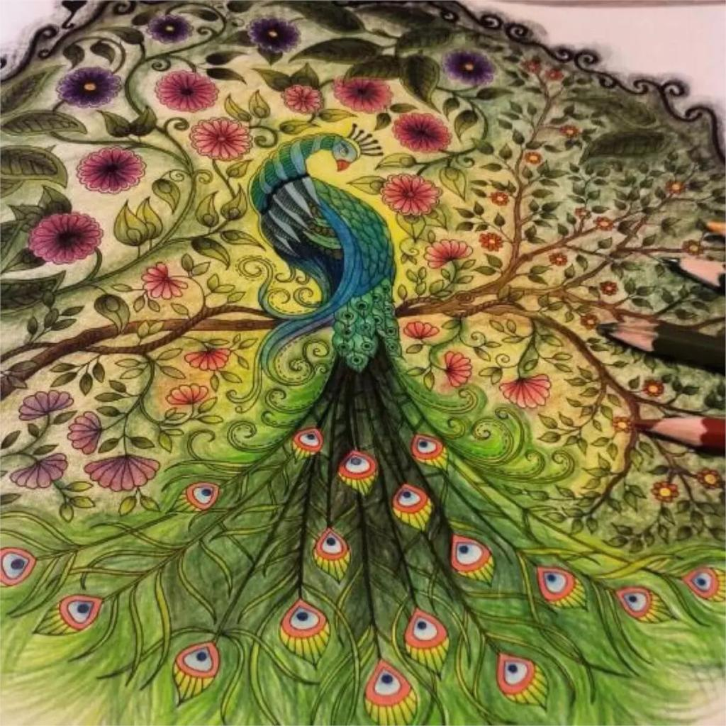 Online Shop New Arrival Secret Garden Coloring Books High Quality Original English Adult Relieve Stress Art Graffiti Painting Drawing Book