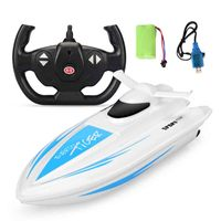 Remote Control Boat High Speed Racing Yacht Model With Rectifying Function Boat For Boys Birthdays Gifts Toys