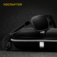 HDCRAFTER Brand Men Sunglasses Polarized Fashion Cool Men Sunglasses Male Driving UV400 Sun Glasses For Men Vintage Gafas De Sol