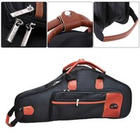 1680D Water Resistant Oxford Cloth Bag Cotton Padded Advanced Fabrics Sax Soft Case Adjustable Shoulder Straps