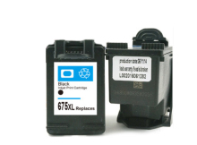 цена 1pcs Compatible Ink Cartridges For HP 675 xl For HP675 for hp Officejet 4000 4400 4575 printer ink онлайн в 2017 году