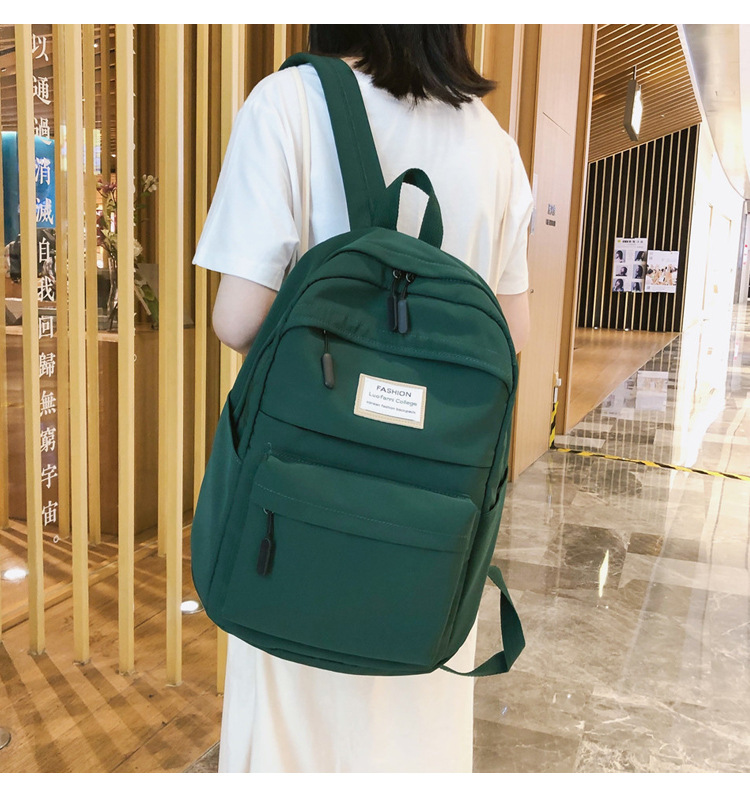HTB1DKc4cLWG3KVjSZPcq6zkbXXaX 2019 New Backpack Women Backpack Fashion Women Shoulder nylon bag school bagpack for teenage girls mochila mujer