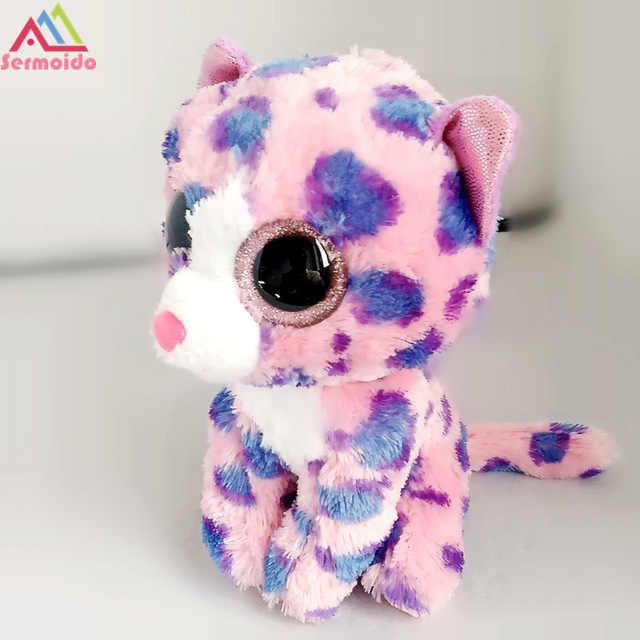 ... sermoido TY Beanie Boos LEEANN - Pink Lemur reg Plush Stuffed Animals  Collectible Soft Toys Big 3ac7bfb776c4