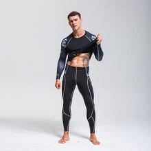Комплект мужского лыжного белья> зимнее Термобелье> быстросохнущие