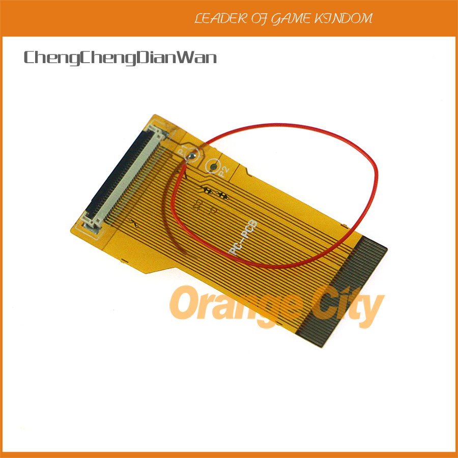 ChengChengDianWan 32Pin 40Pin A & B For GBA Ribbon Cable <font><b>AGS</b></font> <font><b>101</b></font> 32 40 PIN Backlit Highlit Adapter Screen Mod 5pcs/lot image