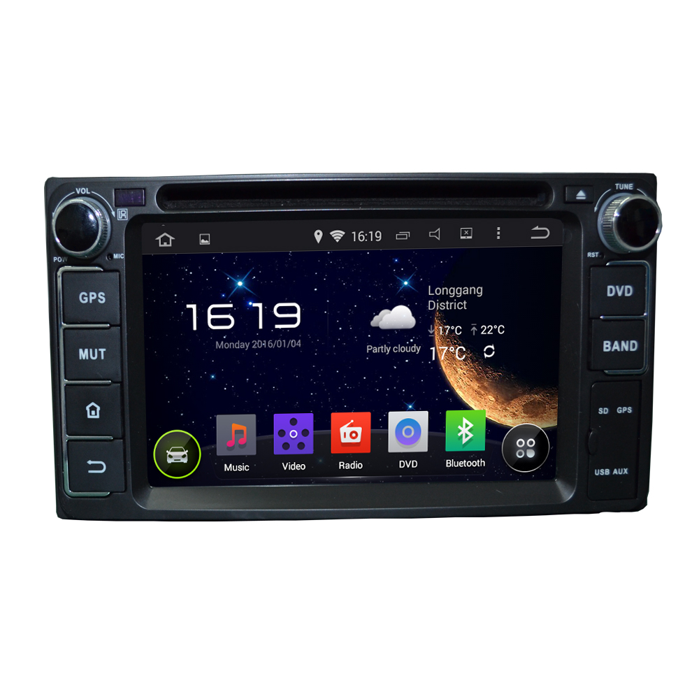 Android 7 1 DAB 3G OBD Radio WIFI DVD Bluetooth Car GPS Navigation For TOYOTA RAV4