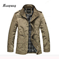 New Arrival Fashion Thin Men Jacket Coat Hot Sell Casual Wear 4XL Korean Comfort Spring Necessary Y00106