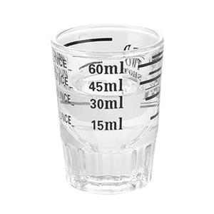 30/45ml Thickened Graduated Glass Oz Ounce Cup Measuring Cup Shot Glasses Kitchen Home Measure Supplies Dropshipping