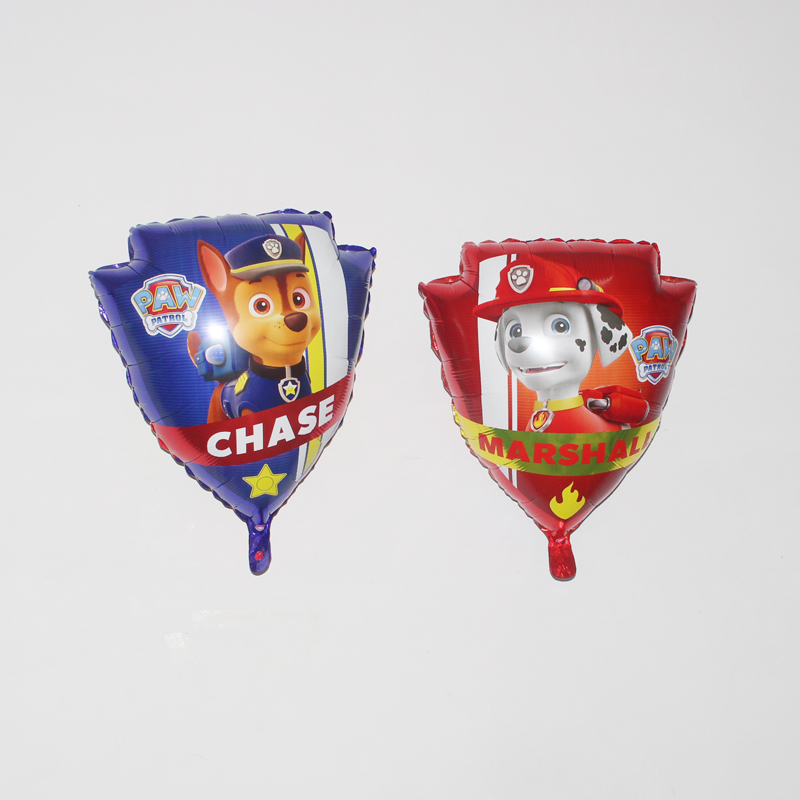 24in Paw Patrol Foil Balloons Classic Toys Inflatable Decoration Helium Balloon