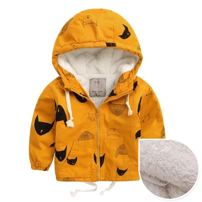 Toddler Girls Boys Fleece Jacket Coat Winter Warm Outerwear Zip Up Fall Winter Clothe