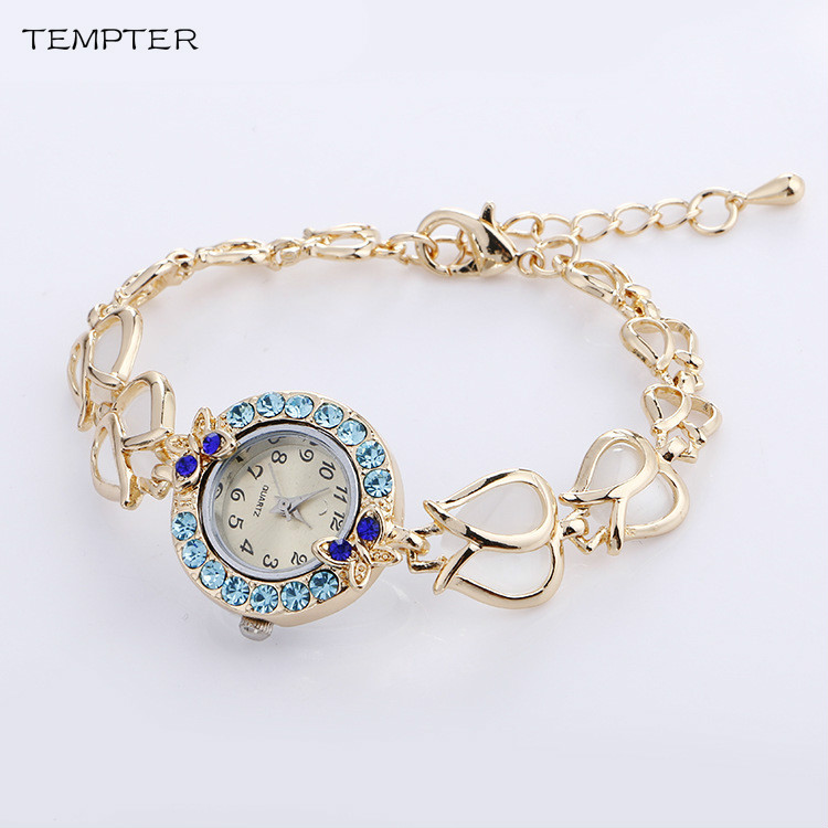 Crystal Butterfly Brand Stainess Steel Dress Watches Girls Quartz Watch Bracelet Watch Ladies Fashion Women Wristwatch Clock 12 inches mens muscle rubber body black skin figures bodies for 1 6 scale male head sculpts brinquedos toys collections