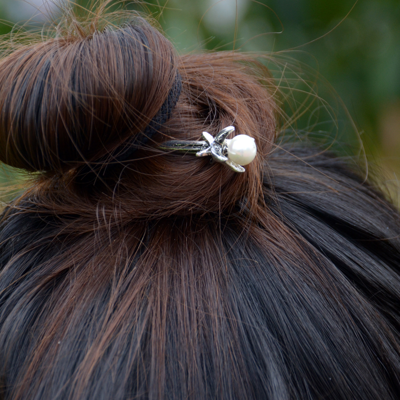 Ethnic Silver Hairpins 2