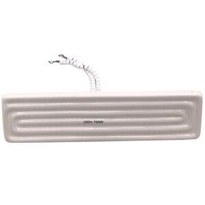 Image 5 - DERNORD placa calefactora industrial de cerámica, 220v, 750W, Elemento de calefacción de cerámica, 240x60mm