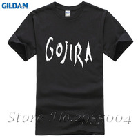 Gojira T Shirt Men S Metal Music Cotton Black Top Tees Men T Shirt 2017 New