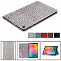 Luxury crocodile PU Leather Case for Samsung Galaxy Tab A 10.1 Inch 2019 SM-T510 T515 tablet cover case T510 folio stand case