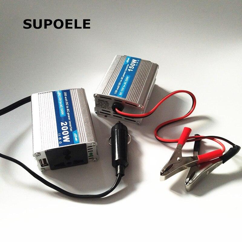 300W Inverter 12V DC to 110V 120V Car Truck Solar 2 USB 2.1A 5V Charger Adapter