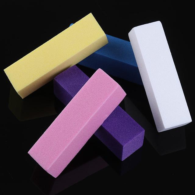 1Pc Sanding Nail File Sanding Polishing Block Buffer Nail Art File Pedicure Manicure Nail Art Accessories Tool Nail Art Tips