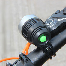 3000 lumenów XML Q5 interfejs led rowerowy lekka latarka czołowa reflektor 3 tryb światła rowerowe lampa kolarstwo na świeżym powietrzu akcesoria rowerowe 3 0 # tanie tanio PROBE SHINY Light Headlamp Rama Battery Bicycle Bell Light bike Light Cartoon Head Light Bicycle Accessories Bicycle head lamp