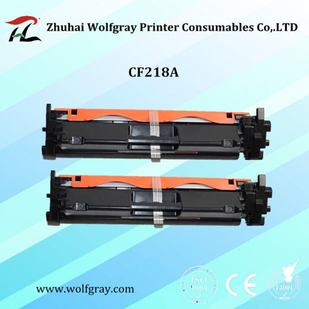 2 P Compatible cartouche de toner pour HP CF218A CF218 218 18A 218A LaserJet Pro M104a M104w 104 132 132a M132fn M132fp M132fw M132nw