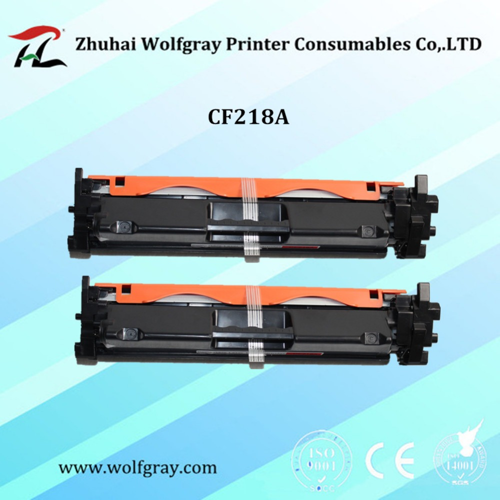 2P Compatible toner cartridge for HP CF218A CF218 218 18A 218A LaserJet Pro M104a M104w 104 132 132a M132fn M132fp M132fw M132nw new toner for hp laserjet pro m104a hp laserjet pro mfp m132 compatible for hp cf218a without chip