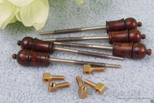 #Y75 3 set 4/4 violin bow part snakewood fr og,bow top parts violin parts