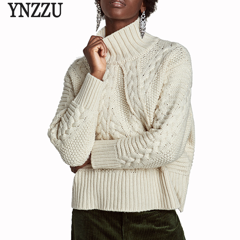 Detail Feedback Questions about Elegant Long Sleeve Solid Vintage Women  knitted Sweater Women jumper Pullover 2017 Autumn Winter Thick Warm Twist  Sweater ... fd0a9db56