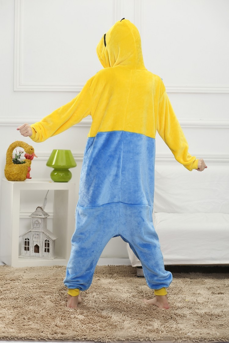 Adult Minion Onesies Cosplay Costume Kids Minions Pajamas Winter ...