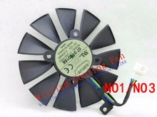 New Original for ASUS Raptor GTX980Ti graphics card cooler fan T129215SU 12V 0.50A