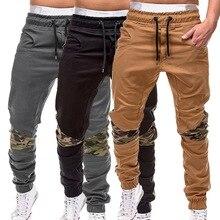 HEFLASHOR, тонкие летние мужские камуфляжные повседневные штаны, Лоскутные Спортивные штаны, мужские брюки-карго с несколькими карманами, спортивная одежда для мужчин, s, джоггеры, 4XL