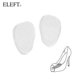 Eleft Новый 2018 Невидимый гель силиконовые стельки подушка для стопы крем для ног гель площадку передние стопы нескользящие для Обувь на