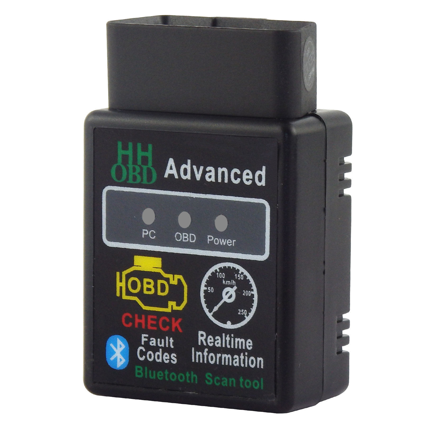 <font><b>ELM327</b></font> <font><b>Bluetooth</b></font> OBD2 OBDII CAN BUS Check Engine Car <font><b>ELM327</b></font> <font><b>1.5</b></font> <font><b>Bluetooth</b></font> Interface Adapter For Android PC image