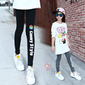 Letter Girls Legency For 4 5 6 7 8 9 10 11 12 13 Years Baby Girls Teens Cotton Leggings Kids Autumn Wear Teenagers Girls