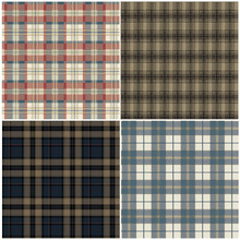 Haok Home PVC Vinyl Modern Plaid Checks Wallpaper Living room Bedroom Home Wall Decoration Blue Tartan